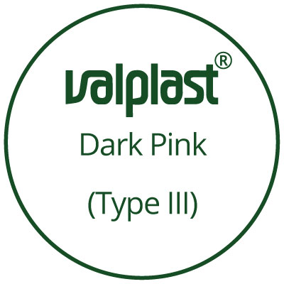 25mm Small Dark Pink 5-Pack