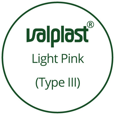 25mm Small Light Pink 5-Pack