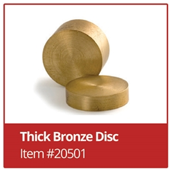 Bronze Disc - Thick