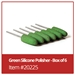 Green Silicone Polisher -Box of 6 - 20225